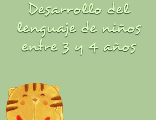 Desarrollo del lenguaje de niños entre 3 y 4 años