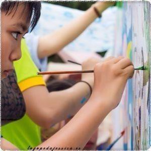 Juegos con el arte para niños de 3 a 7 años