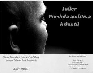 Taller perdida auditiva infantil
