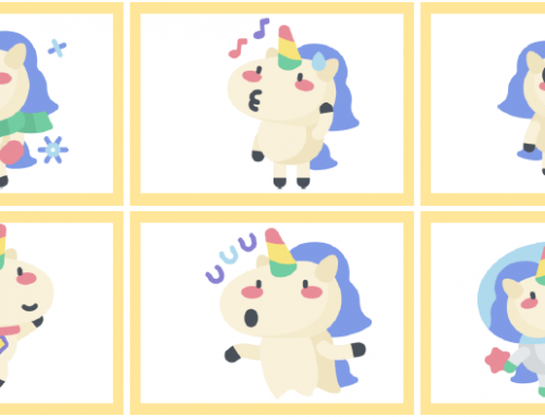 Juego Mímica Unicornio
